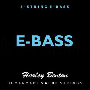 Set De 4 Y 5 Cuerdas Para Bajo Alemanas Harley Benton