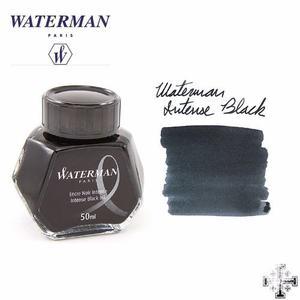 Tinta Waterman 50 Ml. Color Negro.