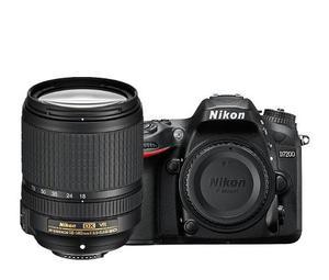 Camara Profesional Nikon D De 24.2 Mpx Con Lente