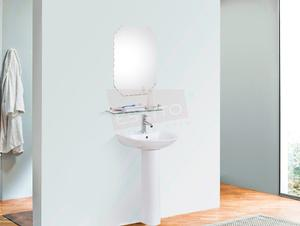 Esatto® Mueble Gamba Plus Lavabo Llave Dren Espejo Repisa