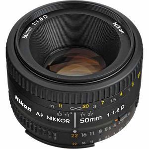 Foto Lente Nikon Af Nikkor 50mm F/1.8d