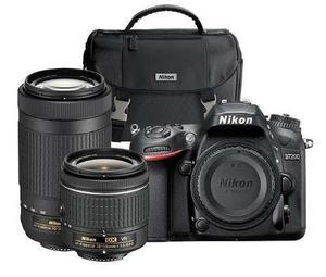Kit Camara Nikon D Dslr + Lentes mm,mm Maleta