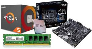 Kit De Actualizacion Gamer Ryzen ghz 4gb Adata