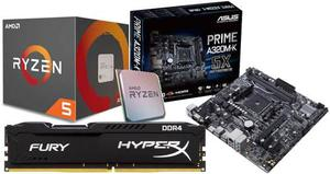 Kit De Actualizacion Gamer Ryzen ghz 8gb Hyperx