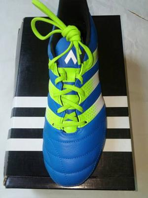 Tenis adidas Ace 16.2 Fg/ag Leather Originales
