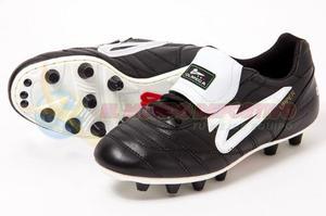 Zapato Futbol Profesional Olmeca Upper Pro Negro Fz
