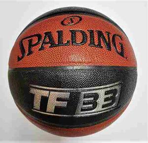 Balon Basketball Spalding Tf 33 No.7 / Piel Sintética