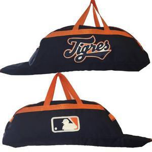 Bonita Batera Mochila De Beisbol Tigres Marino Naranja