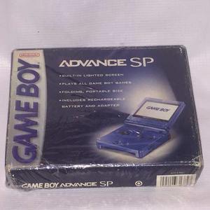 Consola Nintendo Gameboy Advance Sp Con Caja