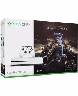Consola Xbox One S 500 Gb + Shadow Of War Nuevo