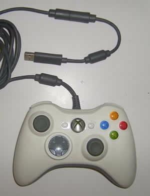 Control Original Microsoft Xbox 360 Mando Alambrico Y Pc