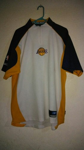 Jersey Para Calentamiendo De Lakers Talla L