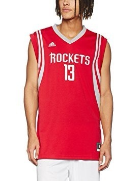 Jersey adidas Rockets Talla S Con Etiqueta Descuento
