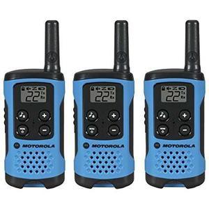 Kit 3 Radios Motorola 26km* (16 Millas) T100tp Clips