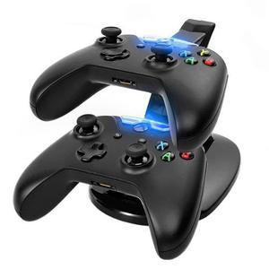 Kit Stand Base Recarga Cargador Controles Xbox One