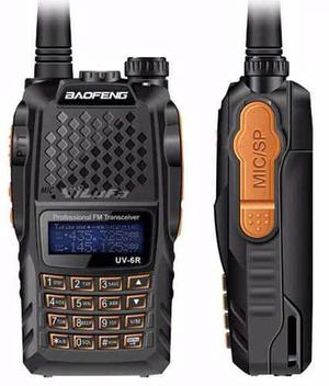 Radio Baofeng Uv 6r Doble Banda Waterproof 8 Wats