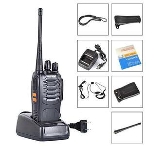 Radio Portatil Baofeng Bf-888s Uhf + Micro De Solapa
