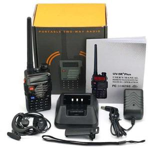 Radio Portatil Baofeng Uv-5r + Plus Vhf/uhf + Mini Antena