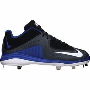 Spikes Nike Mvp Pro Metal Negro Azul # 27 Mx