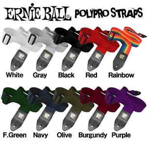 Tali Ernie Ball Polypropileno Alta Calidad Colores Varios