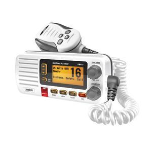 Uniden Um415 Radio Vhf Marina Clase D Montaje Fijo En Blanco