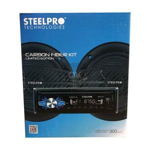 Auto Estereo Steelpro Carbon-325 Bluetooth Usb Con 2 Boc 6.5