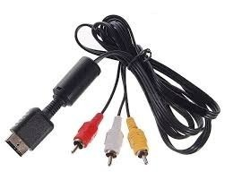 Cable De Audio Y Video Para Ps1 Ps2 Ps3 /e