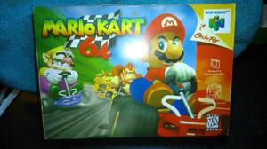 Caja Juego Mario Kart Nintendo 64