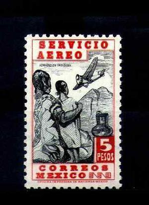 Mexico Sc Cp Mnh Wmk Correos Mexico