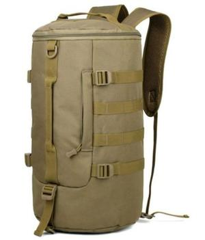 Mochila Táctica Militar 2 En 1 Maleta Y Backpack Cilindro