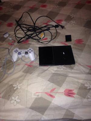 Sony Play Station 2 Slim Black Colored