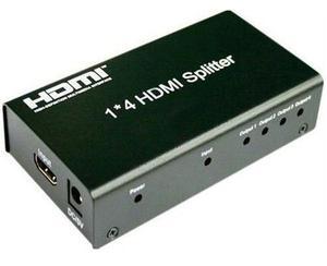 Splitter Hdmi 1*4 Divisor De Señal Amplificador Conecta 4