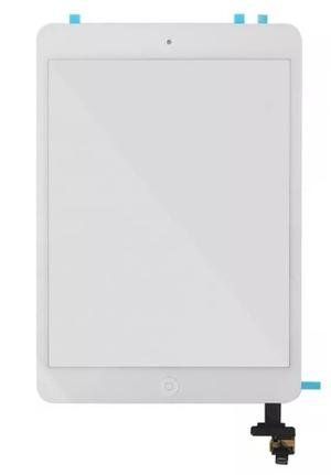 Touch Ipad Mini 1 Y 2 Chip + Boton Home Blanco