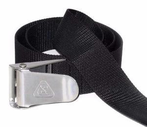 Cinturón Punto Sub C/ Hebilla De Acero Inoxidable Para