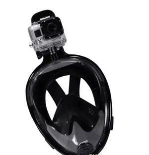 Con Adaptador Gopro Mascara Buceo Snorkel Talla L/xl