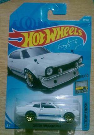 Hot Wheels Custom Ford Maverick 1a Edición Blanco