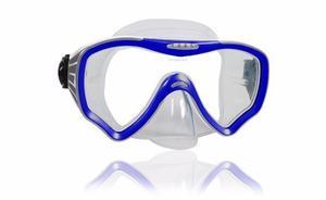 Mascara Escualo Modelo M25 Azul