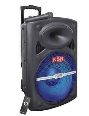 Bafle Recargable Bluetooth Stand Micrófono Bocina De 15 Ksr