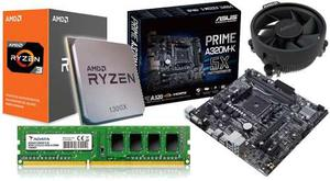 Kit De Actualizacion Gamer Ryzen x 3.7ghz 4gb Adata