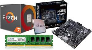 Kit De Actualizacion Gamer Ryzen x 3.8ghz 4gb Adata