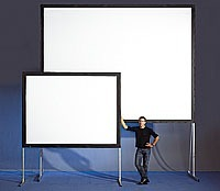 Pantalla Para Proyector, Videoproyeccion Back & Front