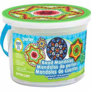 Perler Beads Cubeta Mandalas Bucket C/ Cuentas