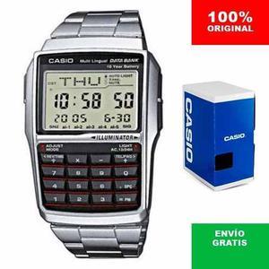 Reloj Casio Retro Vintage Dbc32 - Acero - Calculadora - Alar