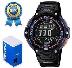 Reloj Casio Sgw100 Brujula Termometro Cronometro
