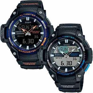 Reloj Casio Sgw450 - Altímetro - Termómetro - Barómetro