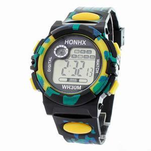 Reloj Digital Hombre Militar Alarma Cronometro Fechador
