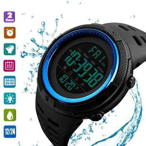 Relojes Hombre Deportivo Sumergible Cronómetro Temporizador