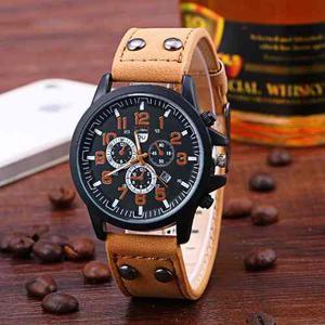 Relojes Hombre Tipo Militar Sport Navy 4 Modelos Quarzo