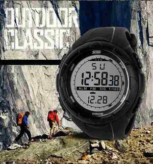Skmei  Reloj Hombre Tipo Militar Sport Navy 4 Colores