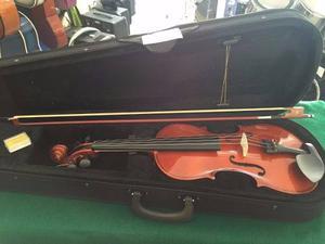 Violin Paris 4/4 Incluye Arco, Brea Y Estuche Maxima Calidad